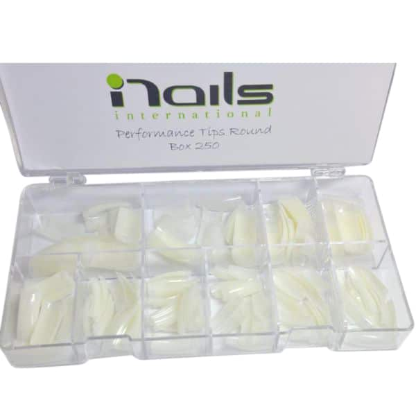 Box of 250 easy blend nail tips