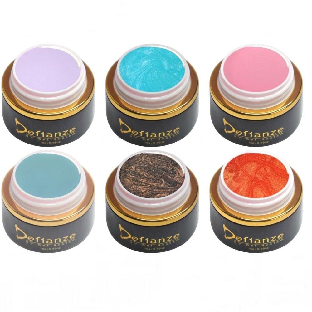 six half price gel polish colors