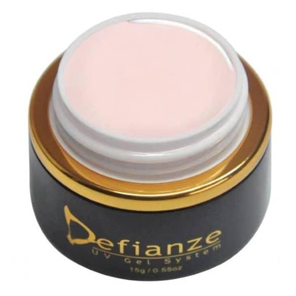pale nude colour gel polish